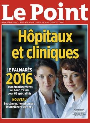 """Palmares """"Le Point"""" 2016"""